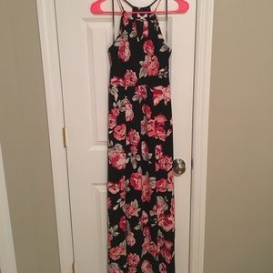 Black and Red Floral Dress by Candies